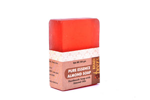 Abeers Khadi Pure Essence ALMOND SOAP - shopwellnessonline.com - 4