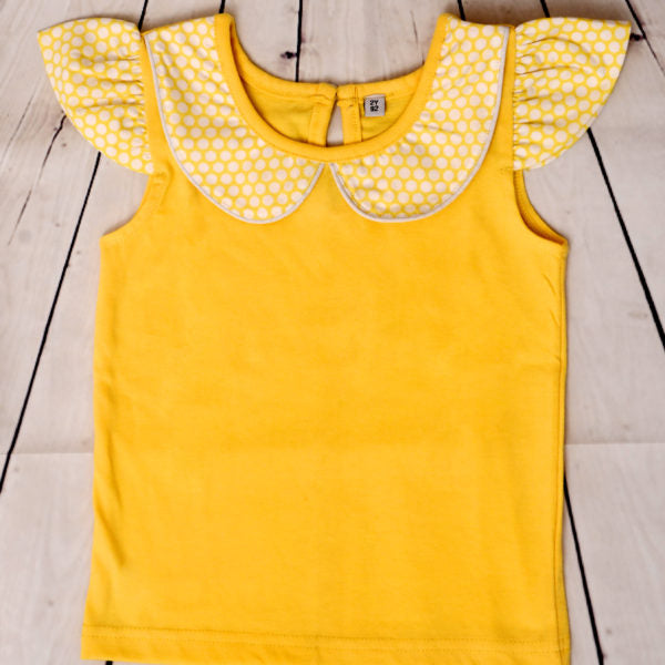Lacey Yellow Top - kartlifestyle.com