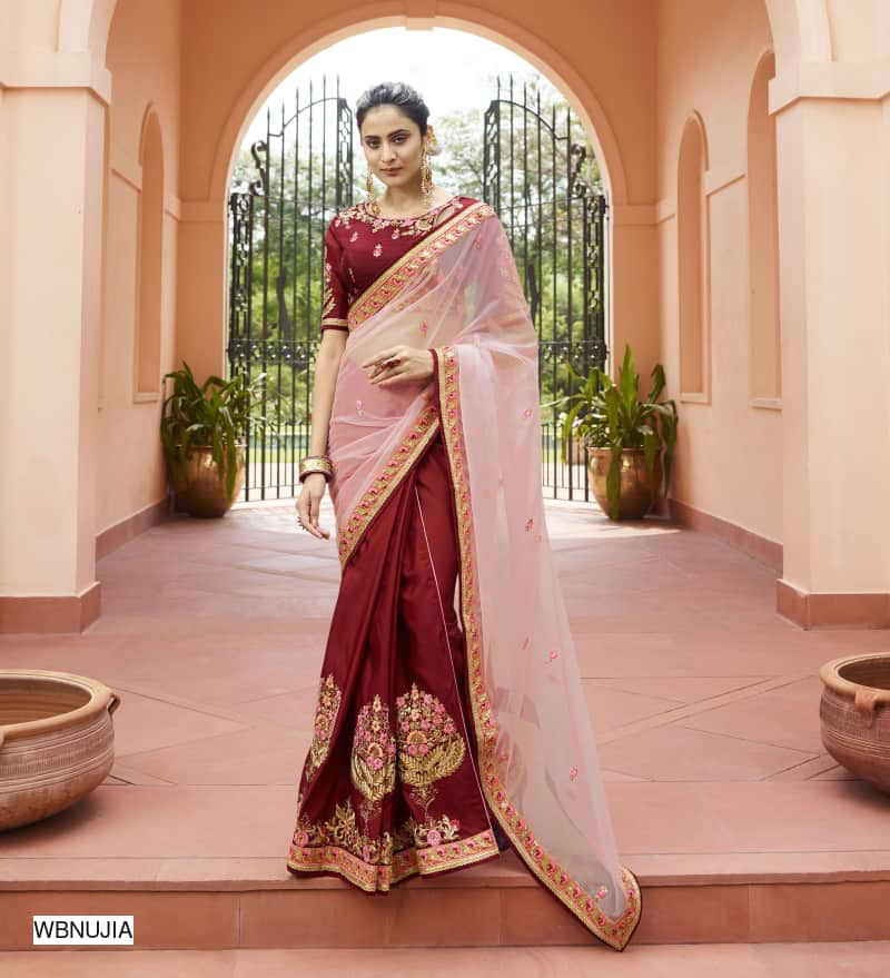 Fancy Party Wear Silk Sarees - kartlifestyle.com