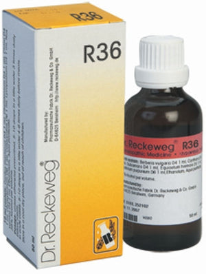 Dr. Reckeweg R36 - Nervous Disease - shopwellnessonline.com