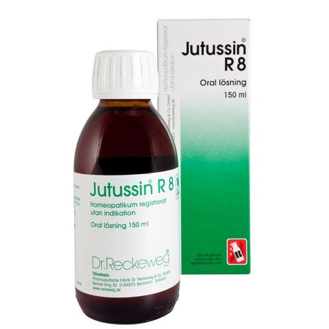 Dr. Reckeweg R8 - Cough Syrup - shopwellnessonline.com