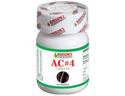 Bakson's AC#4 TABLETS - shopwellnessonline.com