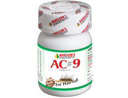 Bakson's AC#9 TABLETS - shopwellnessonline.com