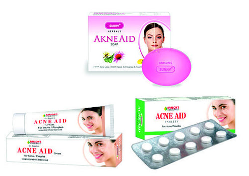Bakson's Acne Care Kit (Soap+Tablets+Cream) - shopwellnessonline.com
