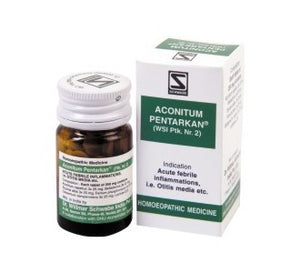 Schwabe's ACONITUM PENTARKAN for Common cold, fever etc - kartlifestyle.com