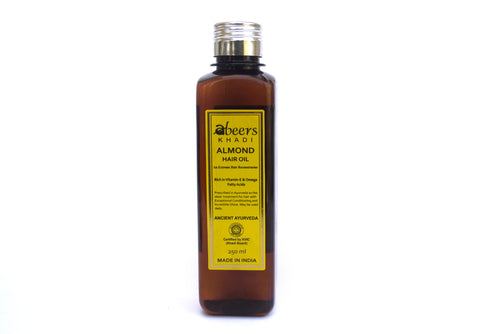 Abeers Khadi Almond Oil - shopwellnessonline.com - 1