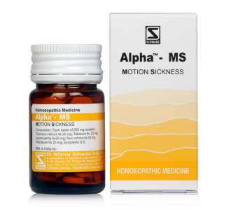 Schwabe's ALPHA-MS (Motion Sickness) - shopwellnessonline.com