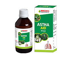 Bakson's Homoeopathic ASTHA AID DROPS - kartlifestyle.com
