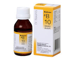 Bakson's Homoeopathic B10 (Sleep Drops) - shopwellnessonline.com
