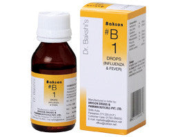 Bakson's B1 (Influenza & Fever Drops) - shopwellnessonline.com