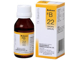 Bakson's B22 (Sinus Drops) - shopwellnessonline.com