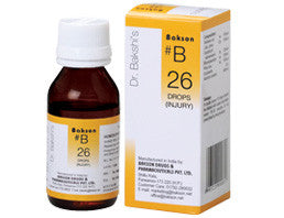 Bakson's B26 (Injury Drops) - shopwellnessonline.com