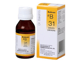 Bakson's Homoeopathic B31 (For painful menstruation) - shopwellnessonline.com