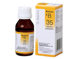 Bakson's B35 (Urinary Drops) - shopwellnessonline.com
