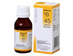 Bakson's Homoeopathic B45 (Neural Drops) - kartlifestyle.com
