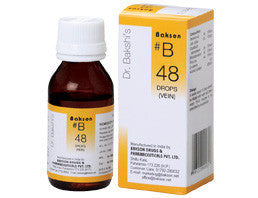 Bakson's B48 (Vein Drops) - shopwellnessonline.com
