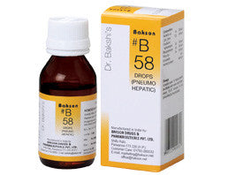 Bakson's Homoeopathic B58 (Lungs/Liver Disorder) - kartlifestyle.com