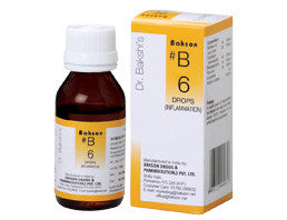 Bakson's B6 (Inflammation Drops) - shopwellnessonline.com