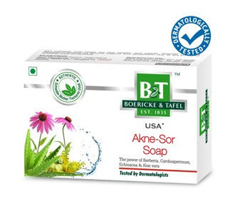 Schwabe's B&T AKNE - SOR SOAP - shopwellnessonline.com
