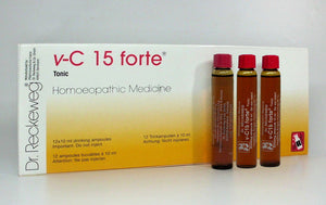 Dr. Reckeweg Vita-C 15 forte- Nerve Tonic (Fatigue, Physical Stress) - kartlifestyle.com