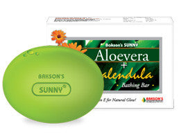 Bakson's ALOEVERA+CALENDULA BATHING BAR - shopwellnessonline.com