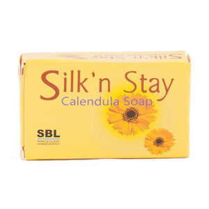 SBL Herbal SILK' n STAY Calendula Soap - shopwellnessonline.com - 1