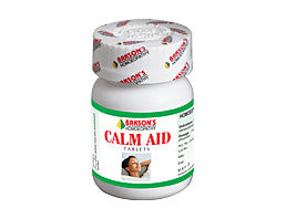 Bakson's  Homoeopathic CALM AID TABLET - kartlifestyle.com