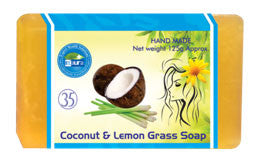 EL COCONUT & LEMON GRASS SOAP