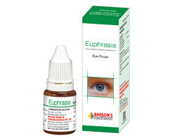 Bakson's EUPHRASIA EYE DROPS - shopwellnessonline.com