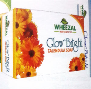 Wheezal's Glow Bright Calendula Soap - shopwellnessonline.com
