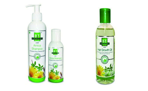 B&T Herbal Homoeopathic HAIR GROWTH Kit - shopwellnessonline.com