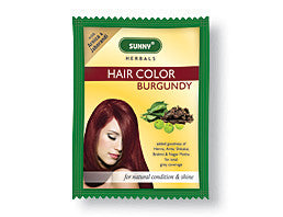 Bakson's SUNNY HAIR COLOR (BURGUNDY) - shopwellnessonline.com - 1