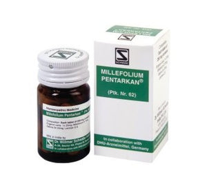 Schwabe's  MILLEFOLIUM PENTARKAN for excessive uterine bleeding - shopwellnessonline.com