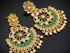 Femme Kundan work Earrings - kartlifestyle.com