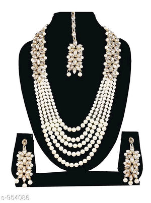 Designer Pearl Necklace sets - kartlifestyle.com