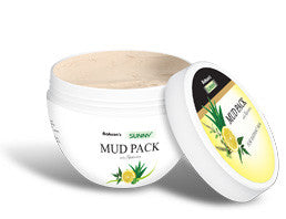 Bakson MUD PACK (Aloevera, neem, tulsi & lemon) - shopwellnessonline.com - 1
