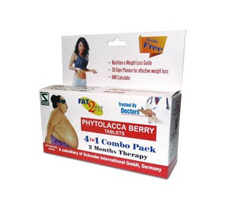 Schwabe's PHYTOLACCA BERRY TABLETS* (obesity) - shopwellnessonline.com