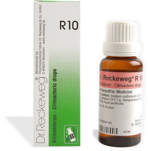 Dr. Reckeweg R10 - Irregular Menstruation drops - shopwellnessonline.com