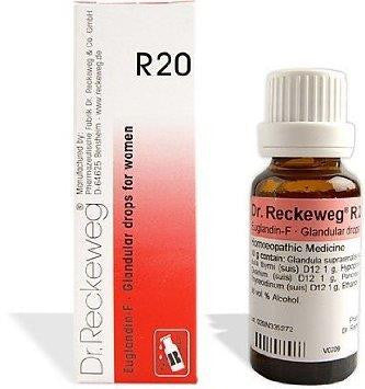 Dr. Reckeweg R20 - Glandular Drops for Women - shopwellnessonline.com
