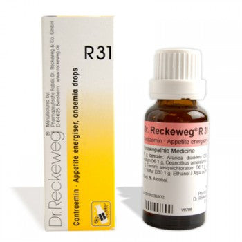 Dr. Reckeweg R31 - Increases Appetite and Blood supply - shopwellnessonline.com