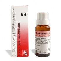 Dr. Reckeweg R41 - Sexual Weakness - kartlifestyle.com