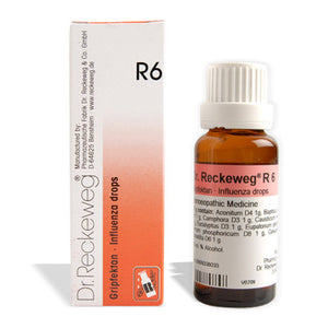 Dr. Reckeweg R6 - Influenza Drops for children - shopwellnessonline.com