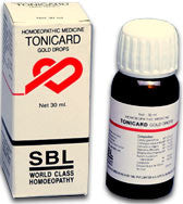 SBL TONICARD GOLD DROPS (FOR HEART PROBLEMS) - shopwellnessonline.com