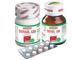 Bakson's TONSIL AID TABLETS - shopwellnessonline.com