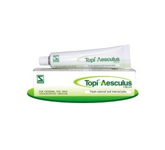 Schwabe's TOPI AESCULUS CREAM (For Piles) - shopwellnessonline.com
