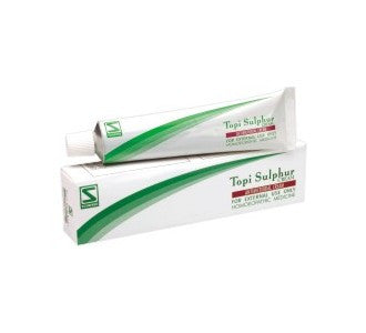Schwabe's TOPI SULPHUR CREAM (Antimicrobial) - shopwellnessonline.com
