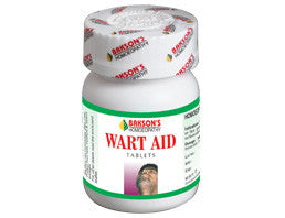 Bakson's WART AID TABLETS (Wart Remover) - shopwellnessonline.com