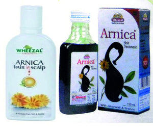 Wheezal Homoeopathic ARNICA HAIR CARE KIT - kartlifestyle.com