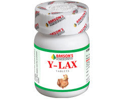 Bakson's Y‐LAX TABLETS for Constipation - shopwellnessonline.com