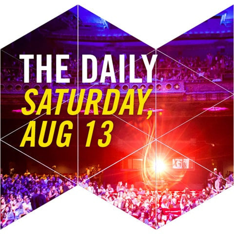 THE DAILY FOR ONE - SATURDAY, AUG 13